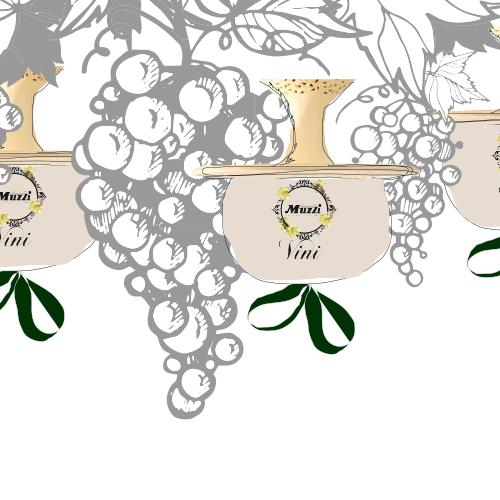 Linea vini e champagne Muzzi Pasticceria Natale