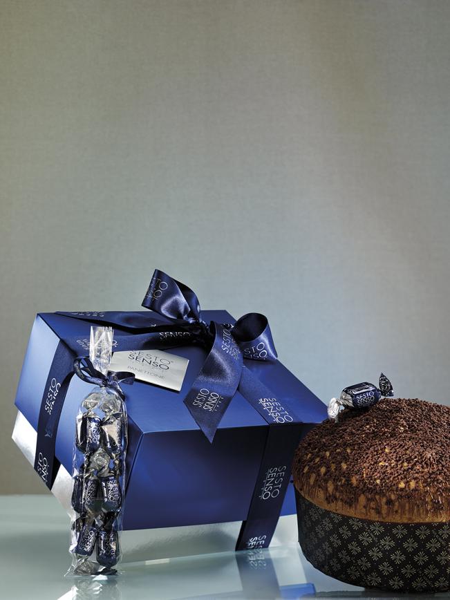 Panettone sesto senso dark chocolate muzzi natale