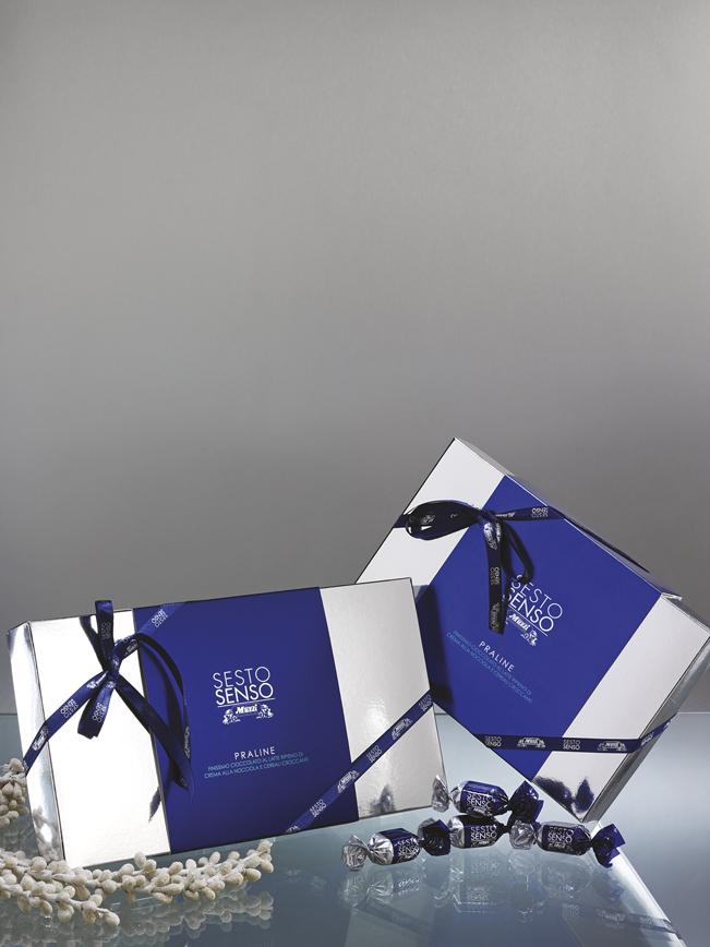 Sesto Senso in sctola regalo e praline