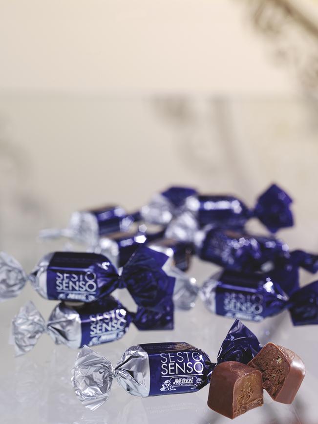 Praline Sesto Senso Muzzi sfuse natale cioccolato