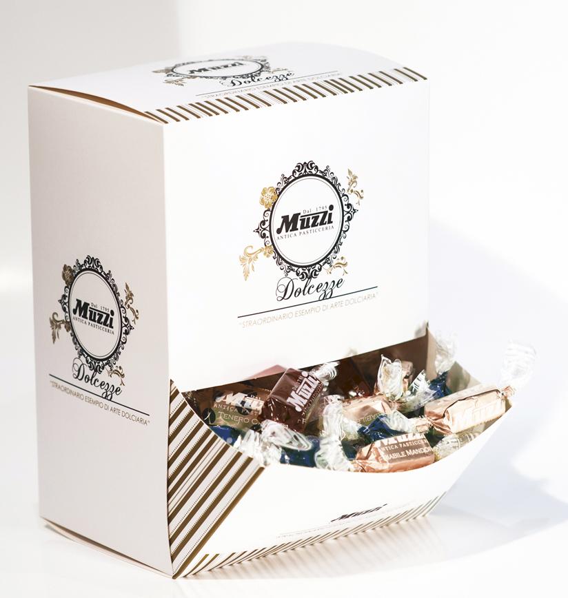 Praline di cioccolato assorite