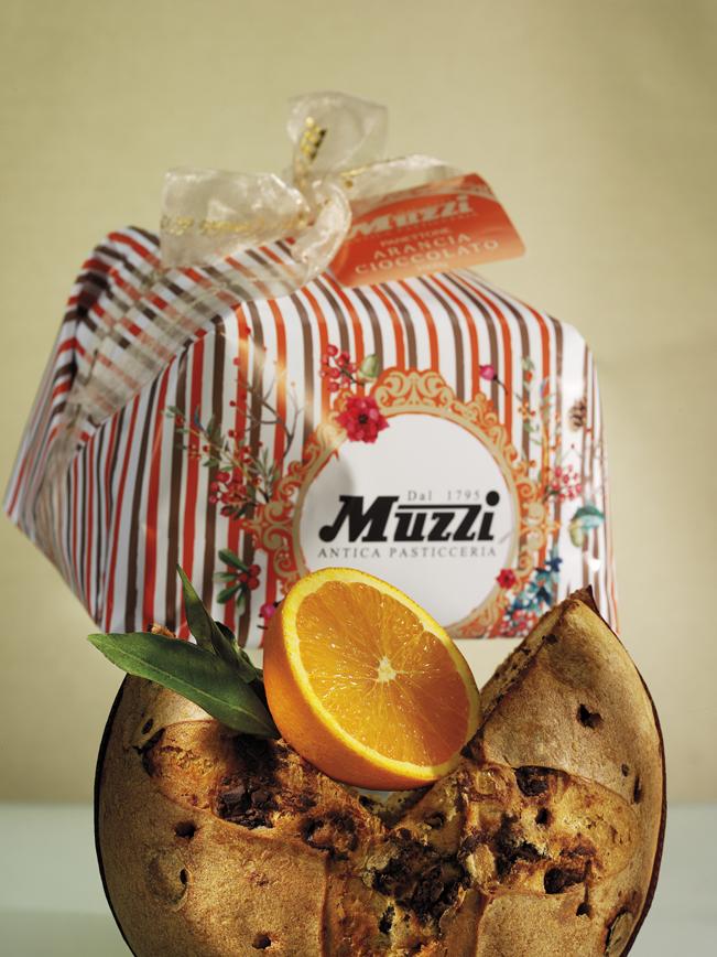 Panettone arancia muzzi natale