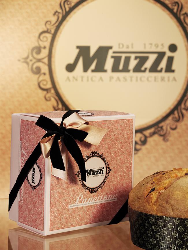 Panettone Classico Arabesque Muzzi Antica Pasticceria