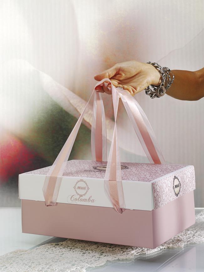 Colomba classica linea gran classica muzzi pasqua scatola regalo