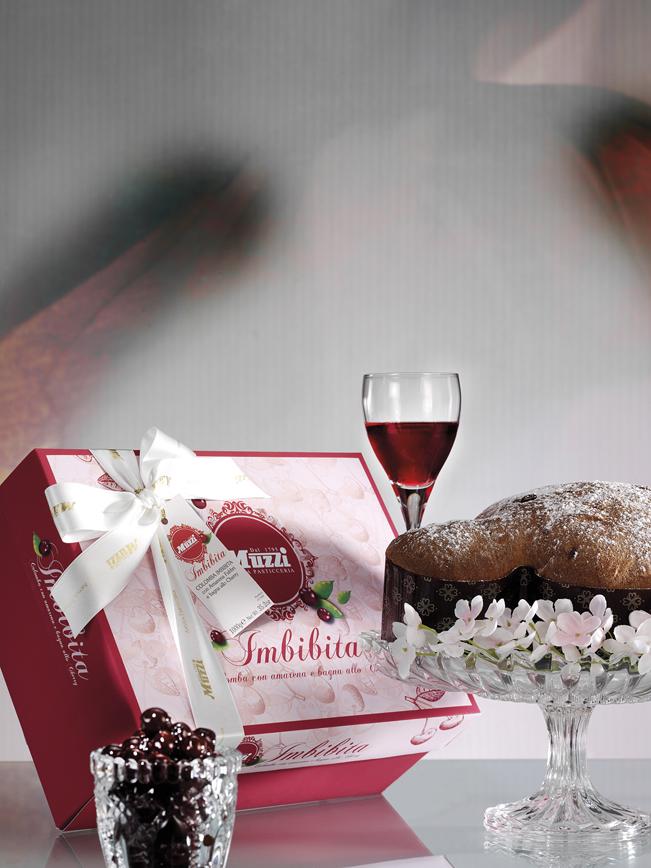 Colomba con Amarena Fabbri e bagna allo Cherry muzzi pasqua