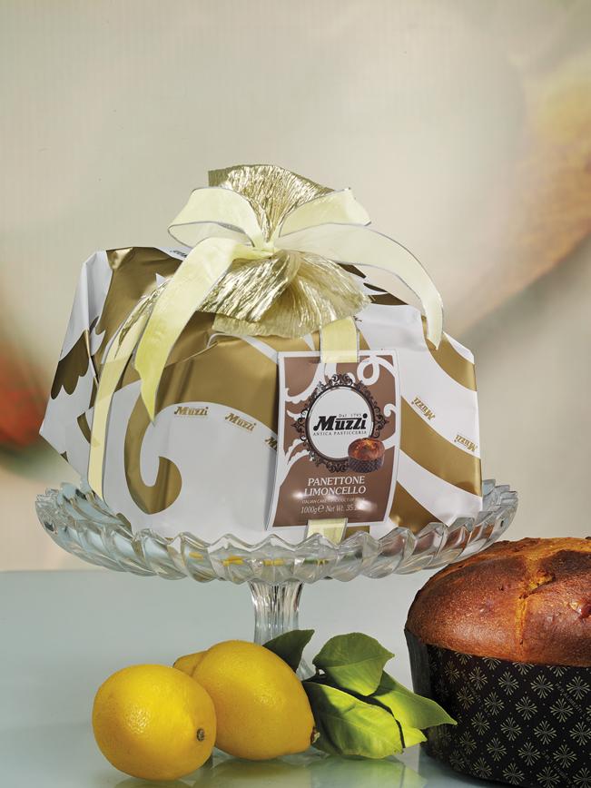 Panettone crema limoncello muzzi gran classica