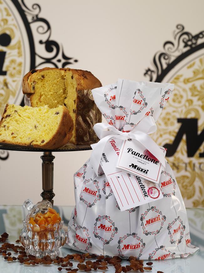 Panettone Classico Dolce di Natale Muzzi Antica Pasticceria