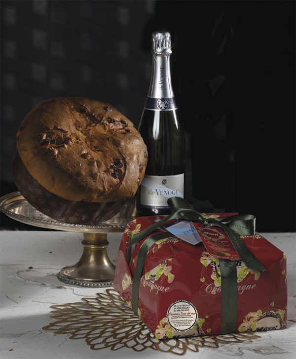 Panettone champagne De Venoge Muzzi