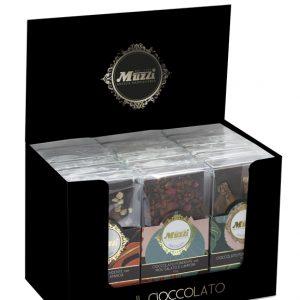 Espositore tavolette cioccolato fondente Muzzi Animalier