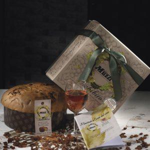 Panettone imbibito con vino passito di pantelleria Muzzi
