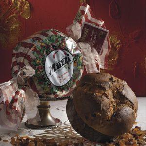 Panettone incarto caramella classico ghirlanda Muzzi