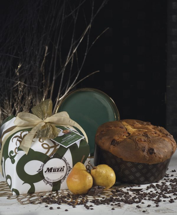 Panettone pere e cioccolato Muzzi Gran Classica