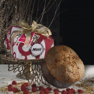 Panettone pistacchio e lampone Muzzi Gran Classica