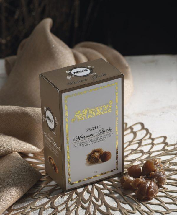 Scatola marrons glaces Muzzi 250g