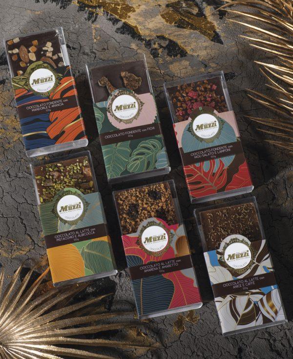 Tavolette di cioccolato Muzzi Animalier